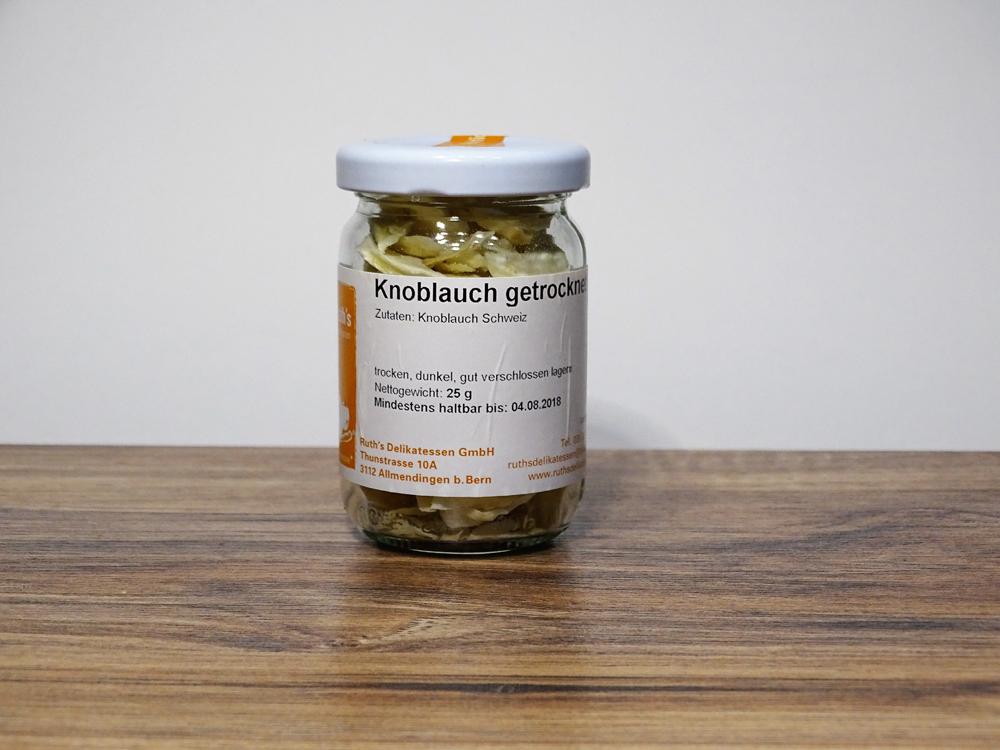 Knoblauch getrocknet