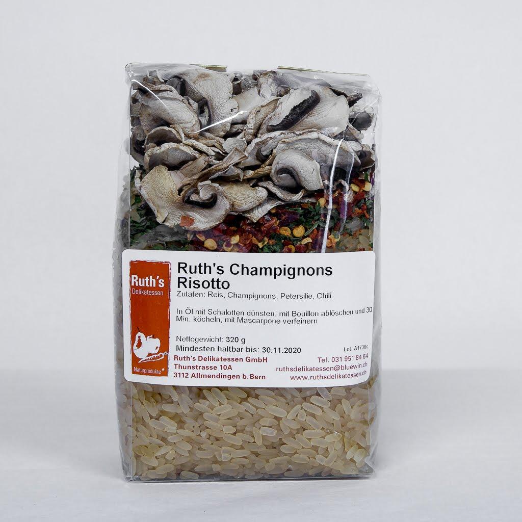 Ruth's Champignons Risotto hot